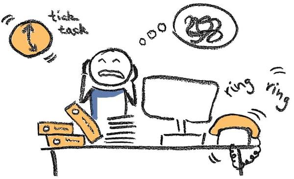 Stress am Arbeitsplatz